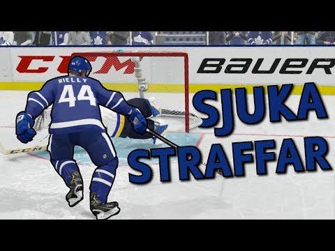 KUNGEN AV STRAFFAR 🏆 - NHL 19 PÅ SVENSKA