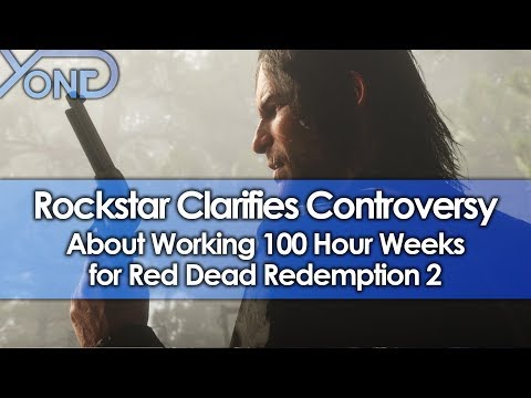 Rockstar Clarifies Controversy About Working 100 Hour Weeks for Red Dead Redemption 2