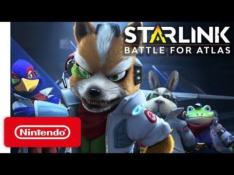 Starlink Battle for Atlas - Star Fox Launch Trailer - Nintendo Switch