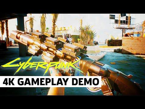 Cyberpunk 2077 — Official Gun Combat Gameplay Trailer