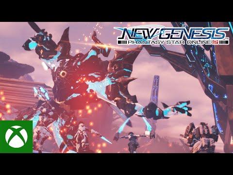 Phantasy Star Online 2: New Genesis - Xbox Games Showcase Trailer