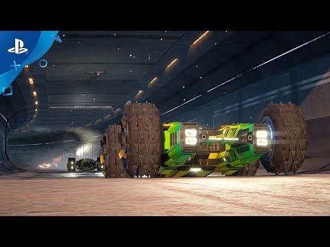GRIP: Combat Racing Release Date Trailer | PS4