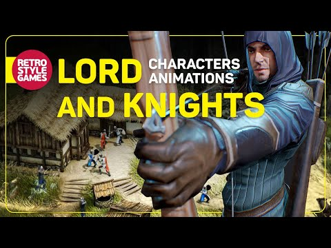 Lord and Knights - Isometric Characters Animations