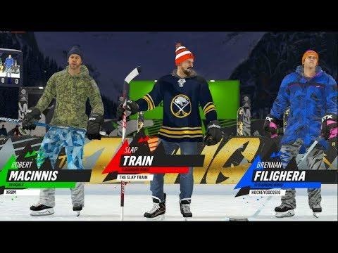 NHL 19 BETA!! Pond Hockey 1v1v1 - WHO CAN BEAT ME!! | SLAPTrain