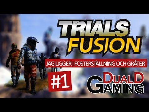 """Trials Fusion med DDG - """"Jag ligger i fosterställning och gråter"""""""