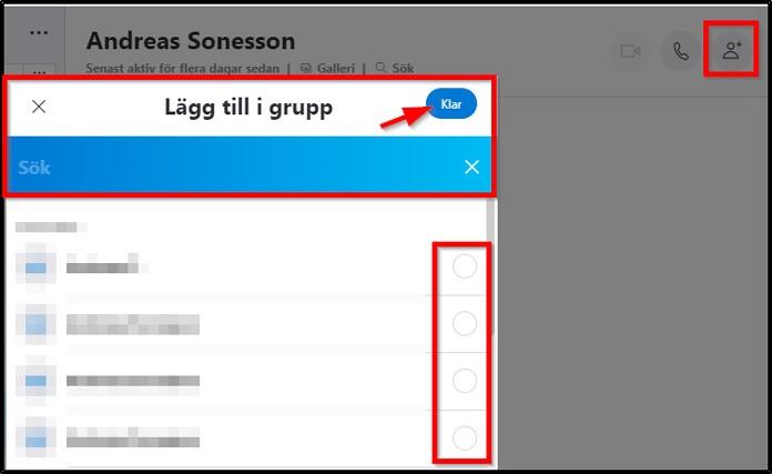 Skype lägg till i grupp