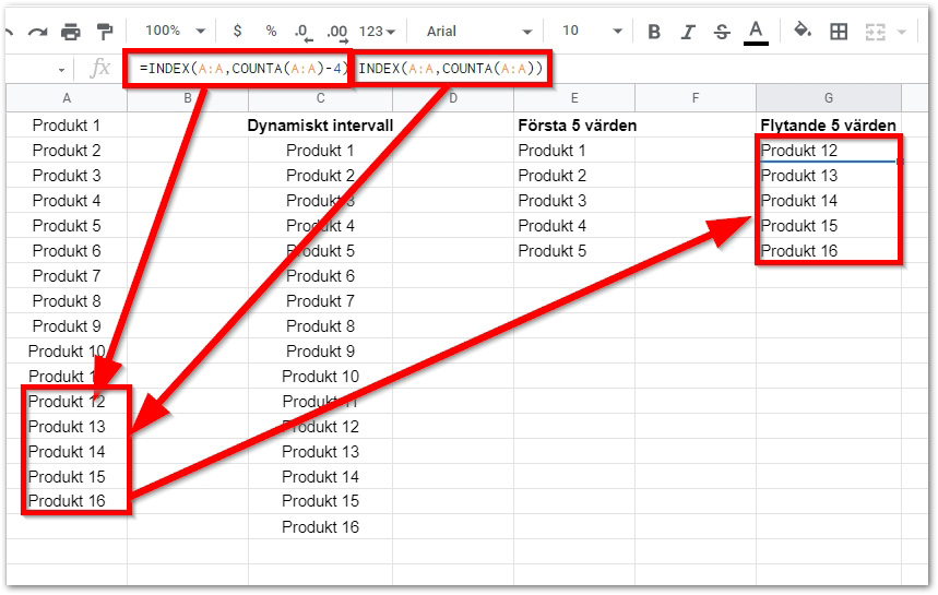 2021 02 19 00 06 25 Copy of DAY 7 INDEX STARTER TEMPLATE Google Sheets