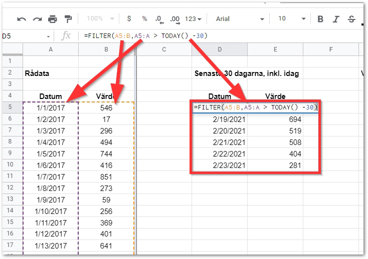 2021 02 23 10 39 39 Copy of DAY 13 FILTER STARTER TEMPLATE Google Sheets