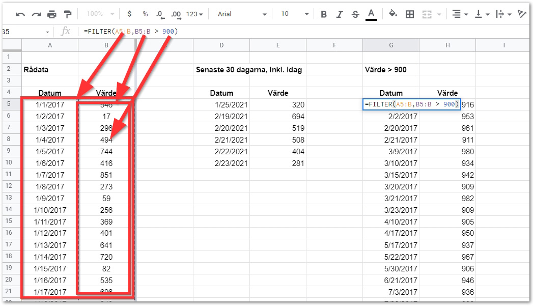 2021 02 23 10 54 48 Copy of DAY 13 FILTER STARTER TEMPLATE Google Sheets