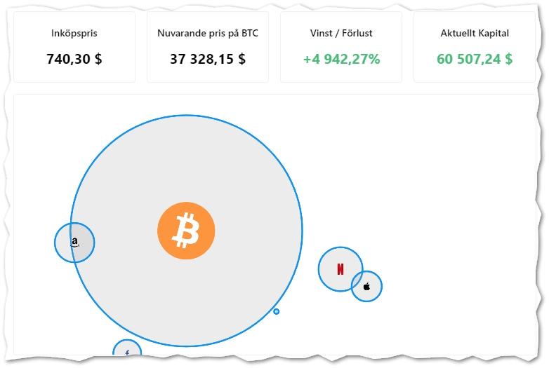 Bitcoin vinstkalkylator