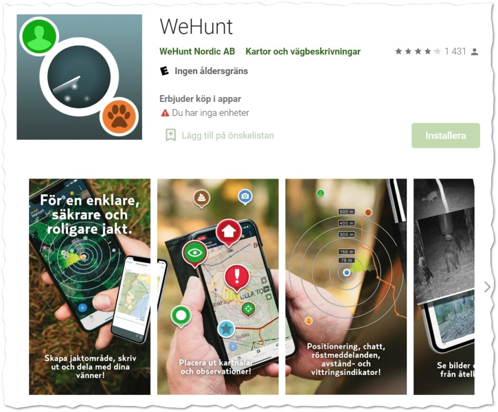 Wehunt GPS Android