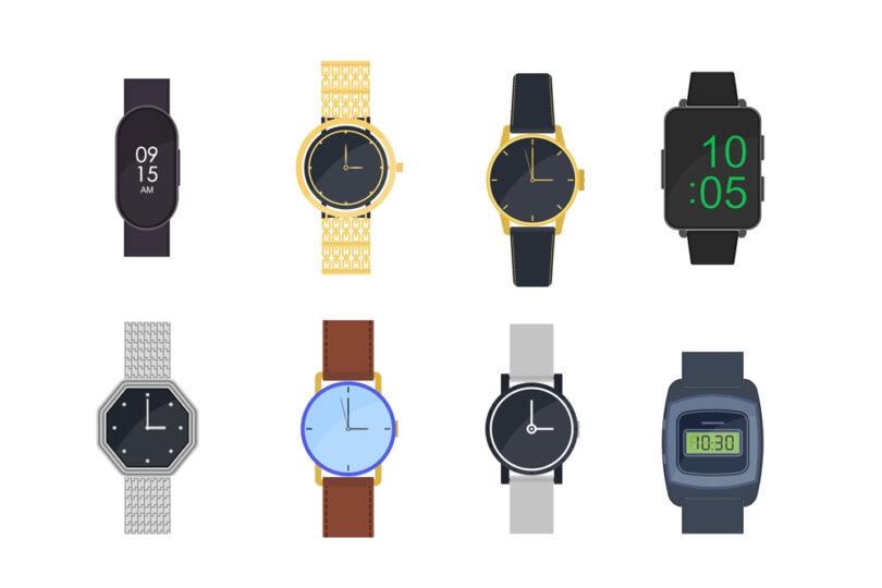 6 smarta klockor pa rad